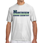 N-XC - N3142 A4 Short-Sleeve Cooling Performance Crew Neck T-Shirt