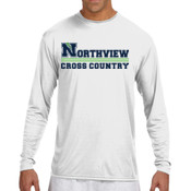 N-XC - N3165 A4 Long-Sleeve Cooling Performance Crew Neck T-Shirt