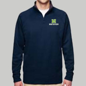 N - PF95MR Jerzees Adult Quarter-Zip Tech Fleece