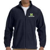 N - M990 Harriton Men's 8oz. Full-Zip Fleece