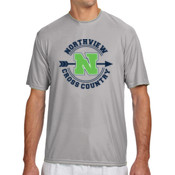 MED - N3142 A4 Short-Sleeve Cooling Performance Crew Neck T-Shirt